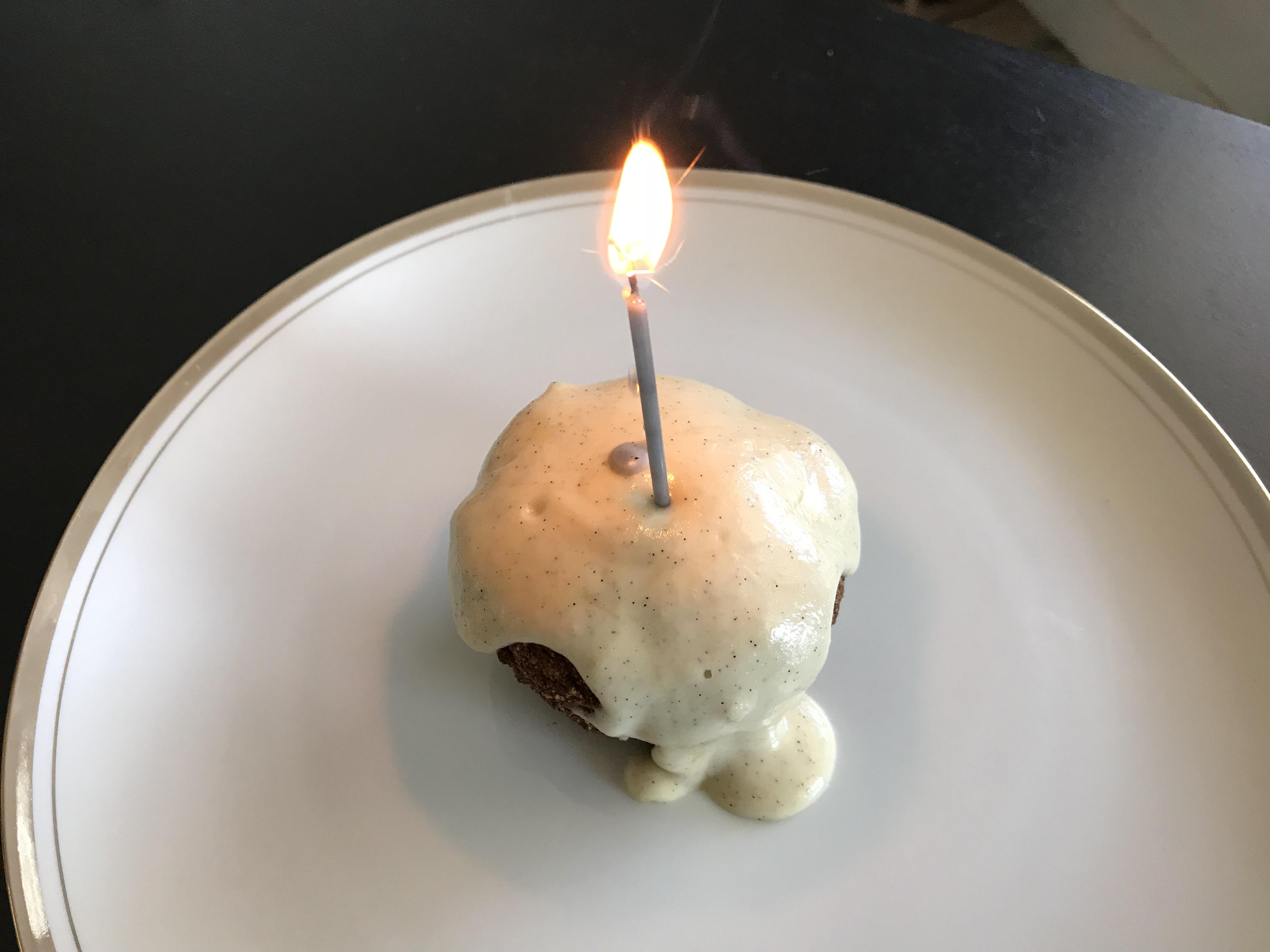 "My Birthday Vegan Carrot ""Cake"""