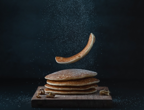 Buckwheat Pancakes with Apples Vegan