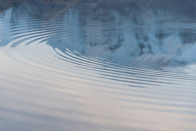 thoughts are like ripples